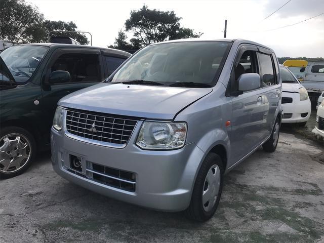 沖縄の中古車 三菱 eKワゴン 車両価格 19万円 リ済込 2009(平成21)年 14.9万km シルバー