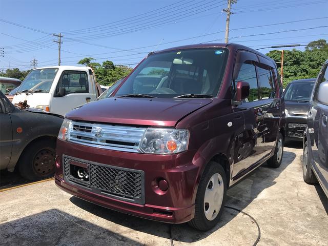沖縄の中古車 三菱 トッポ 車両価格 22万円 リ済込 2008(平成20)年 12.5万km ワイン