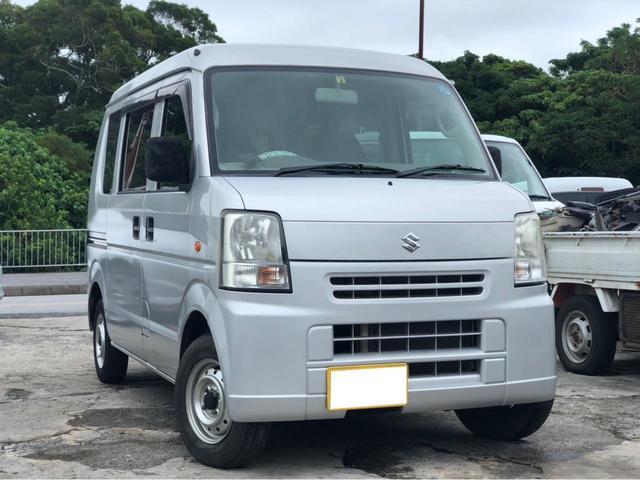 沖縄の中古車 スズキ エブリイ 車両価格 28万円 リ済込 2007(平成19)年 13.2万km シルバー