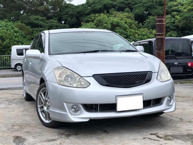 沖縄の中古車 トヨタ カルディナ 車両価格 28万円 リ済込 2005(平成17)年 18.1万km シルバー