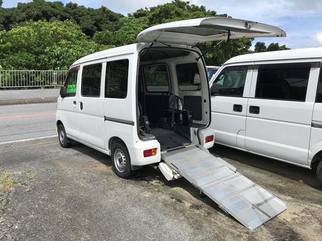 沖縄県の中古車ならハイゼットカーゴ 福祉車両 スロープ式