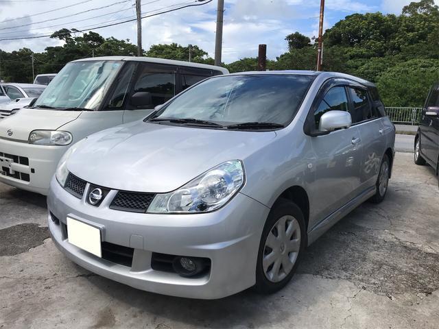 沖縄の中古車 日産 ウイングロード 車両価格 30万円 リ済込 2009(平成21)年 13.1万km シルバー
