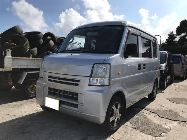 沖縄の中古車 スズキ エブリイ 車両価格 23万円 リ済込 2006(平成18)年 19.8万km シルバー