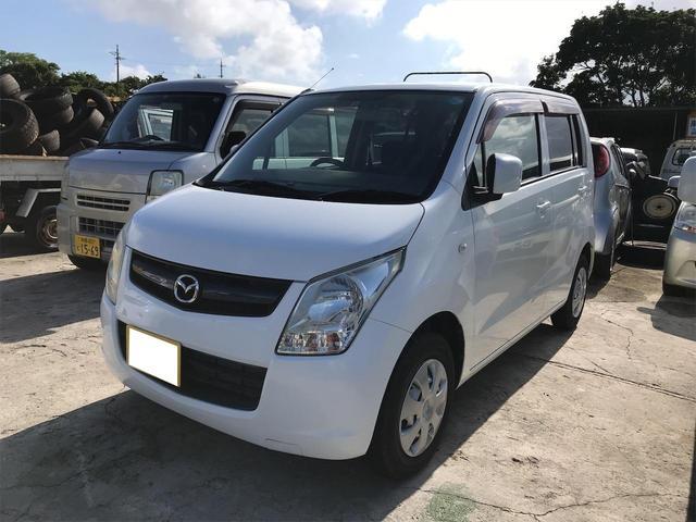 沖縄の中古車 マツダ AZワゴン 車両価格 29万円 リ済込 2012(平成24)年 13.6万km ホワイト