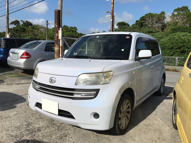 沖縄の中古車 ダイハツ クー 車両価格 20万円 リ済込 2006(平成18)年 16.0万km パールホワイト