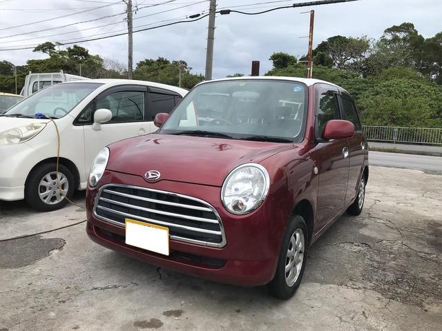 沖縄の中古車 ダイハツ ミラジーノ 車両価格 21万円 リ済込 2006(平成18)年 19.1万km レッド
