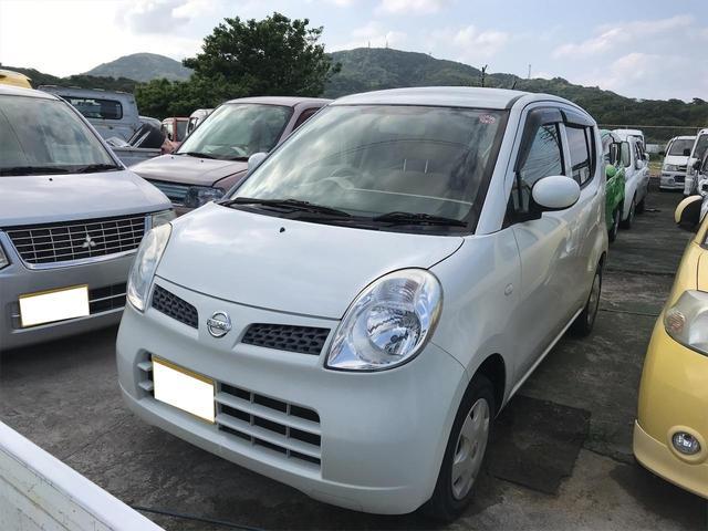 沖縄の中古車 日産 モコ 車両価格 25万円 リ済込 2009(平成21)年 15.8万km パールホワイト