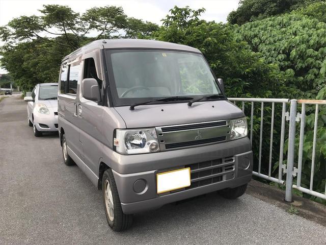 沖縄の中古車 三菱 タウンボックス 車両価格 28万円 リ済込 2008(平成20)年 15.0万km シルバー