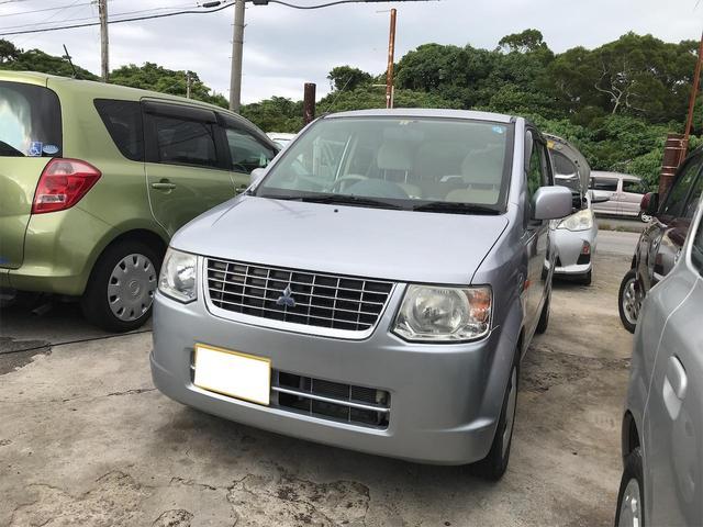 沖縄の中古車 三菱 eKワゴン 車両価格 15万円 リ済込 2011(平成23)年 10.4万km シルバー