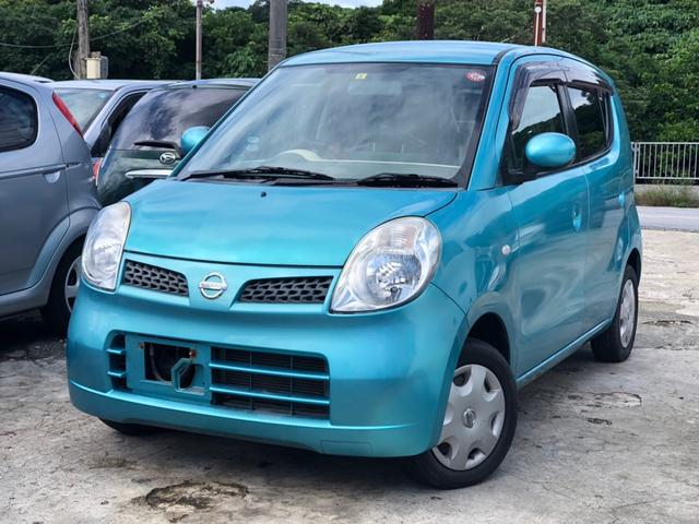 沖縄の中古車 日産 モコ 車両価格 19万円 リ済込 2006(平成18)年 4.8万km ブルー