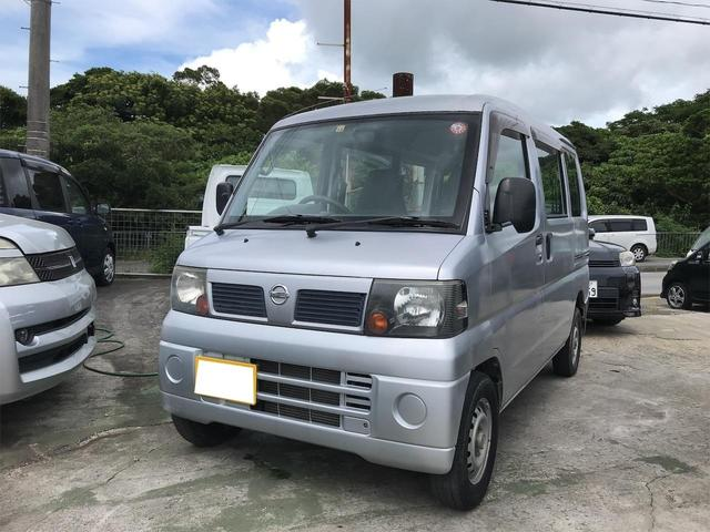 沖縄の中古車 日産 クリッパーバン 車両価格 23万円 リ済込 2009(平成21)年 14.1万km シルバー