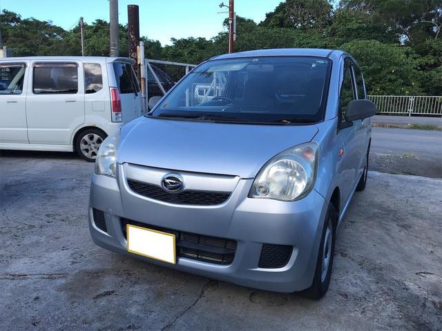 沖縄の中古車 ダイハツ ミラ 車両価格 19万円 リ済込 2011(平成23)年 4.1万km シルバー