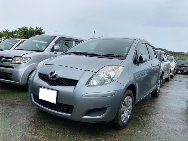 沖縄の中古車 トヨタ ヴィッツ 車両価格 23万円 リ済込 2010(平成22)年 11.7万km シルバー