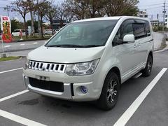 沖縄の中古車 三菱 デリカD:5 車両価格 58万円 リ済別 平成19年 17.5万K ホワイトM