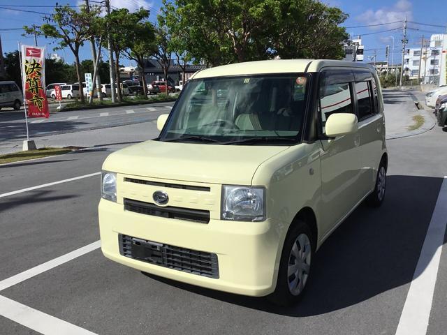 沖縄の中古車 ダイハツ ムーヴコンテ 車両価格 68万円 リ済別 平成25年 2.4万km イエロー
