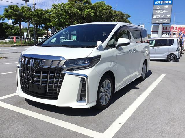 沖縄の中古車 トヨタ アルファード 車両価格 375万円 リ済別 新車  ホワイト