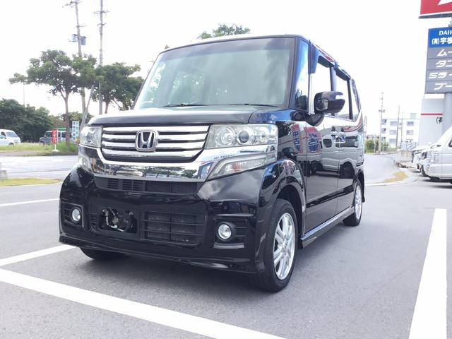 沖縄県名護市の中古車ならN-BOXカスタム G・Lパッケージ
