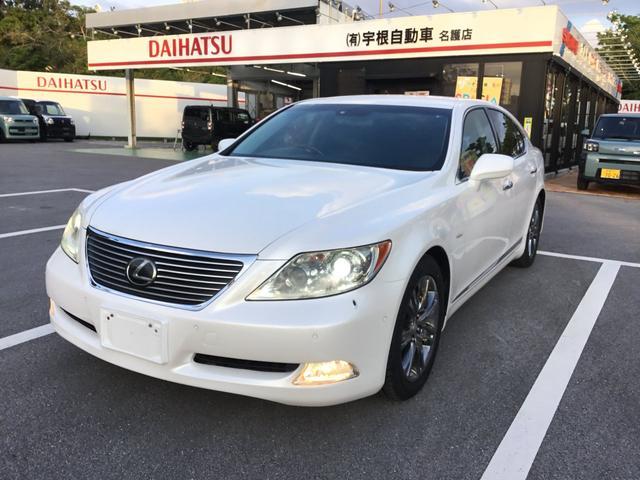 沖縄の中古車 レクサス LS 車両価格 99万円 リ済別 2009(平成21)年 15.5万km パール