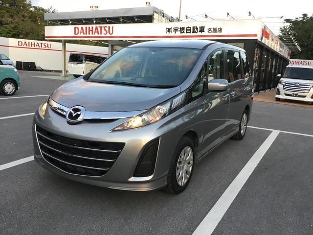 沖縄の中古車 マツダ ビアンテ 車両価格 65万円 リ済別 2014(平成26)年 9.4万km グレー