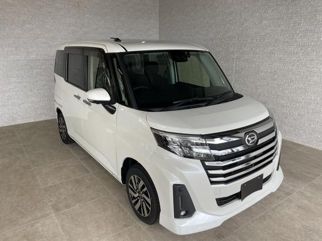 沖縄の中古車 ダイハツ トール 車両価格 191.4万円 リ済別 2020(令和2)年 5km パールホワイト