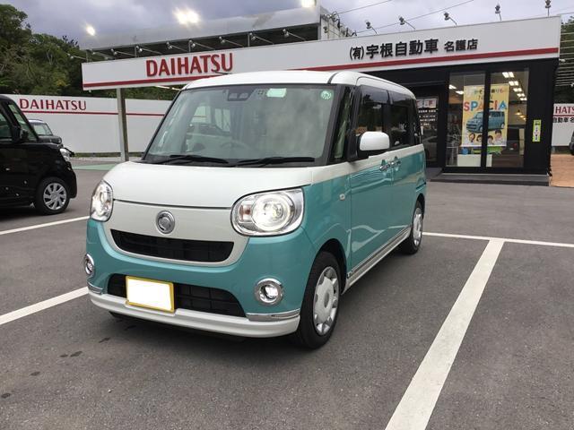 沖縄県名護市の中古車ならムーヴキャンバス Gメイクアップ SAIII