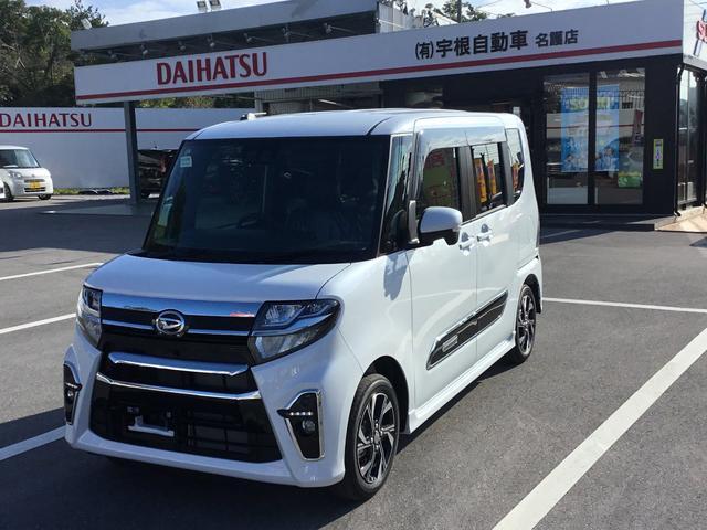沖縄県名護市の中古車ならタント カスタムXセレクション 全方位カメラ シートヒーター LEDヘッドライト Bluetooth接続