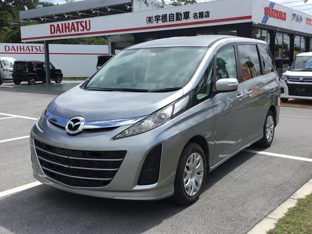 沖縄の中古車 マツダ ビアンテ 車両価格 39万円 リ済別 2014(平成26)年 9.4万km グレー