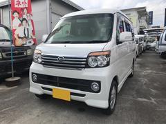 沖縄の中古車 ダイハツ アトレーワゴン 車両価格 49万円 リ済込 平成22年 15.6万K パール