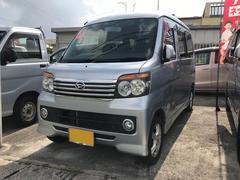 沖縄の中古車 ダイハツ アトレーワゴン 車両価格 43万円 リ済込 平成20年 16.6万K シルバー