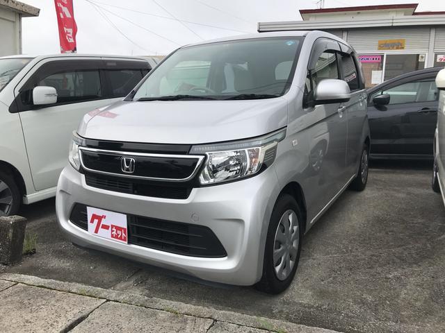 沖縄の中古車 ホンダ N-WGN 車両価格 55万円 リ済込 2014(平成26)年 10.7万km シルバー