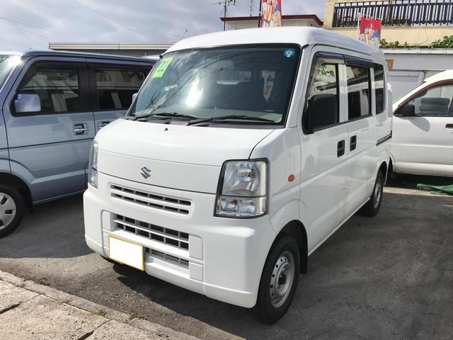 沖縄の中古車 スズキ エブリイ 車両価格 39万円 リ済込 2010(平成22)年 10.7万km ホワイト