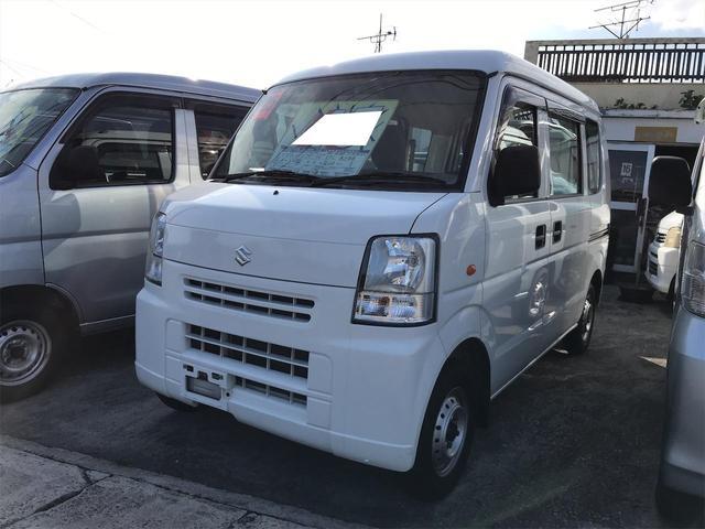 沖縄の中古車 スズキ エブリイ 車両価格 45万円 リ済込 2013(平成25)年 12.9万km ホワイト