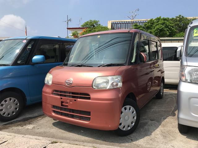 沖縄の中古車 ダイハツ タント 車両価格 29万円 リ済込 2009(平成21)年 10.5万km ピンク