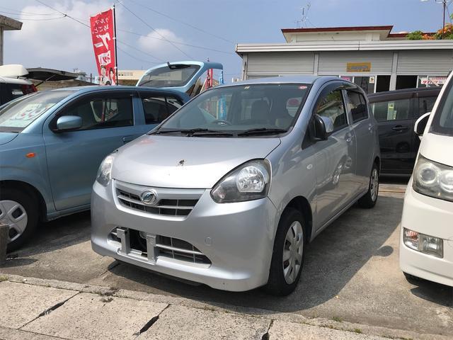 沖縄の中古車 ダイハツ ミライース 車両価格 29万円 リ済込 2012(平成24)年 6.8万km シルバー