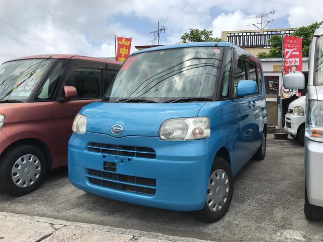沖縄の中古車 ダイハツ タント 車両価格 29万円 リ済込 2008(平成20)年 10.8万km ブルー