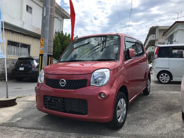 沖縄の中古車 日産 モコ 車両価格 40万円 リ済込 2012(平成24)年 7.4万km ピンク
