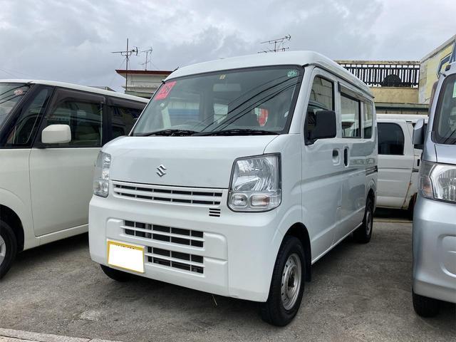 沖縄の中古車 スズキ エブリイ 車両価格 59万円 リ済込 2016(平成28)年 6.5万km ホワイト
