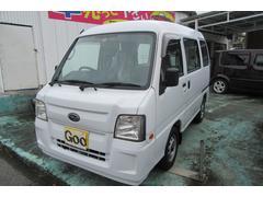 沖縄の中古車 スバル サンバーバン 車両価格 38万円 リ済込 平成23年 10.4万K ホワイト