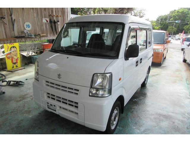 沖縄の中古車 スズキ エブリイ 車両価格 32万円 リ済込 平成20年 12.3万km ホワイト