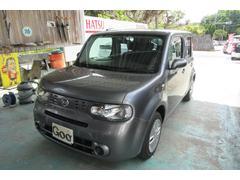 沖縄の中古車 日産 キューブ 車両価格 44万円 リ済込 平成26年 6.2万K ガンM