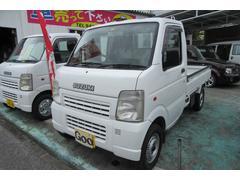 沖縄の中古車 スズキ キャリイトラック 車両価格 44万円 リ済込 平成18年 12.2万K ホワイト