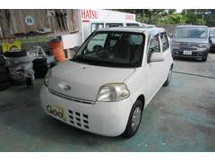沖縄の中古車 ダイハツ エッセ 車両価格 17万円 リ済込 平成20年 9.1万K ホワイト