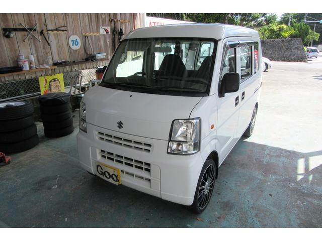 沖縄の中古車 スズキ エブリイ 車両価格 42万円 リ済込 平成22年 13.5万km ホワイト