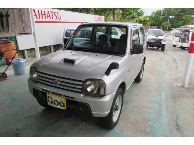 沖縄の中古車 スズキ ジムニー 車両価格 40万円 リ済込 平成16年 15.5万km ガンM