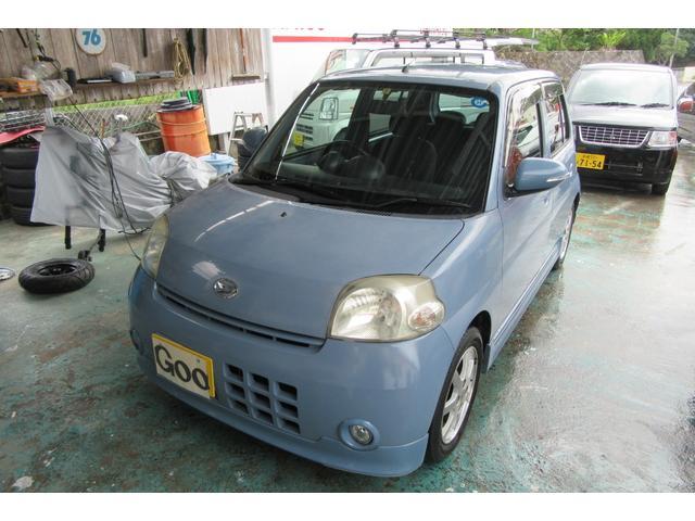 沖縄の中古車 ダイハツ エッセ 車両価格 16万円 リ済込 平成19年 12.7万km 特色