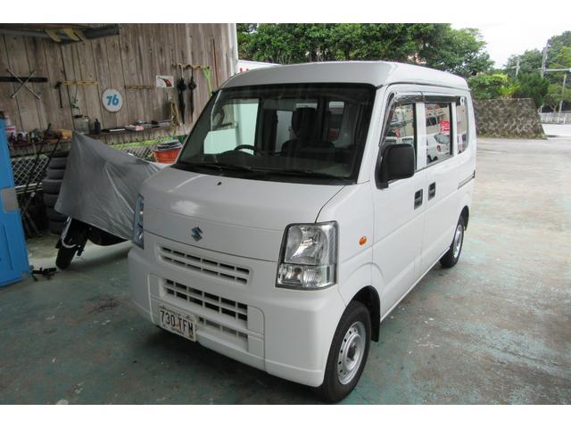 沖縄の中古車 スズキ エブリイ 車両価格 39万円 リ済込 平成25年 13.8万km ホワイト