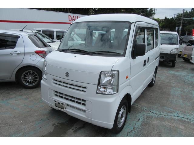 沖縄の中古車 スズキ エブリイ 車両価格 38万円 リ済込 平成23年 12.6万km ホワイト