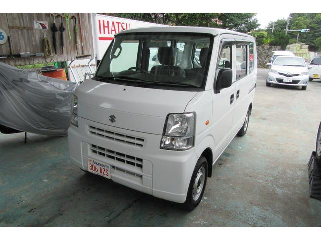 沖縄の中古車 スズキ エブリイ 車両価格 39万円 リ済込 平成25年 12.6万km ホワイト