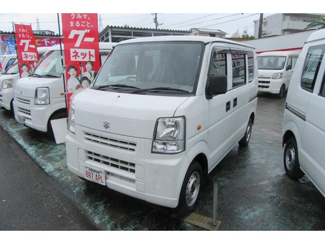 沖縄の中古車 スズキ エブリイ 車両価格 39万円 リ済込 平成24年 13.9万km ホワイト