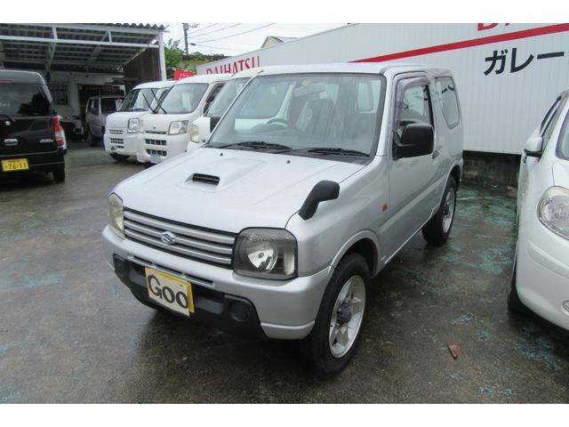 沖縄の中古車 スズキ ジムニー 車両価格 38万円 リ済込 平成16年 15.5万km ガンM